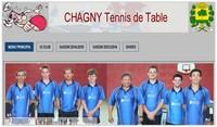 Site du CHAGNY Tennis de Tabe
